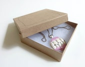 Teeth dental pendant necklace