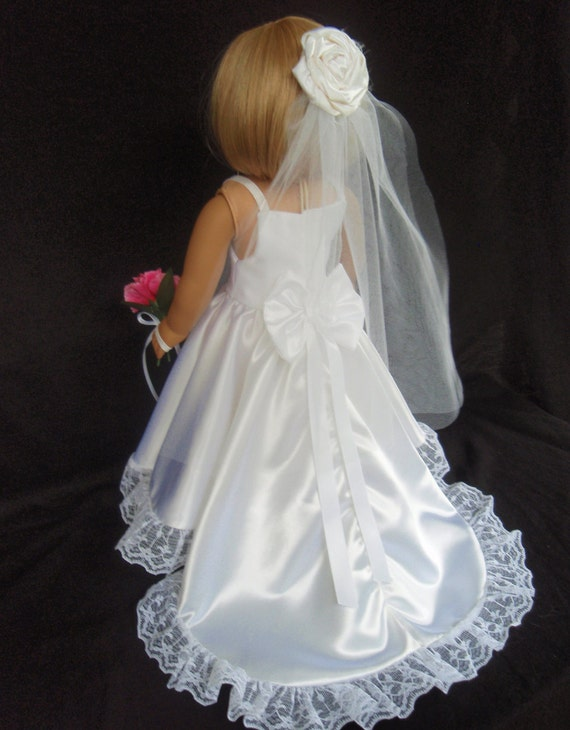American girl doll clothes wedding gown dress sewsonancy for American girl wedding dress