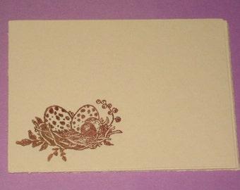 8 Birds Nest Table Cards Place cards