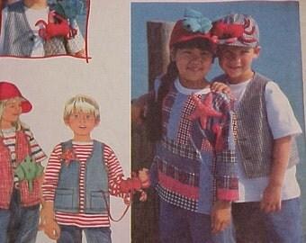 Childrens Summer Clothes Pattern UNCUT sz 3 4 5 6