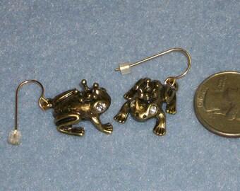 Frog Prince Dangle Earrings (846)