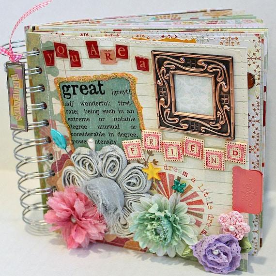 Friendship Photo Album Scrapbook Photo Album
