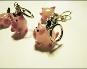 Flying Pig - Non-Snag Stitch Markers
