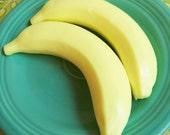 Fresh Banana Soap - Yellow, Banana Scented, Fake Food Soap, Fruit Soap, Soap Banana, Gag Gift, Prank Soap, Funny Soap, Bath Soap