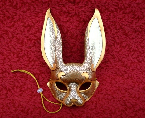 how to make leather venetian masks