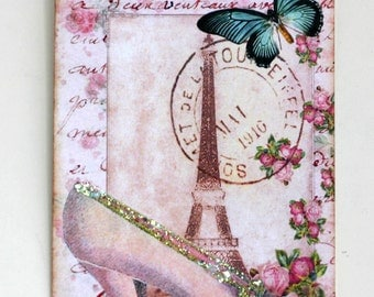 French Chic Shoe Gift Tags