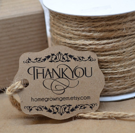 rustic ornate gift tags thank you tags hang tag price tag