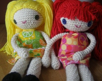 Crocheted Dolls - Made To Order, Personalized, Handmade