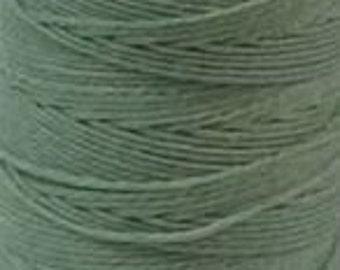 Irish Waxed Linen Thread Crawford Cord 4 Ply 1 Spool (100 Yards) SAGE 420021