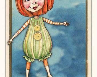 Jolly Halloween (card)