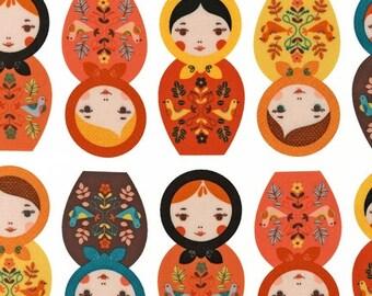 Little Kukla by Suzy Ultman for Robert Kaufman, Retro, LAST 47 Inches