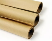Kraft Paper Roll - Brown - Gift Wrap / Stamping / Crafts / Table Runner - 30lb