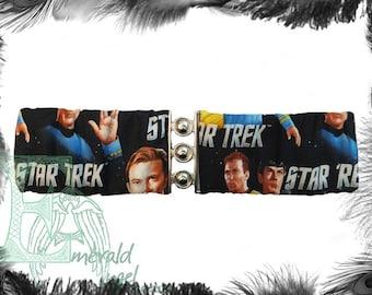Star Trek Kirk Spock Elastic Cinch Belt, Any Size