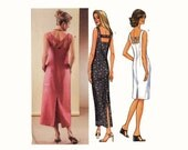 Plus size Summer Dress with back detail sewing pattern Butterick 3514 Sz 18 to 22