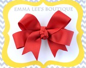 Rosie Red Hair Bow