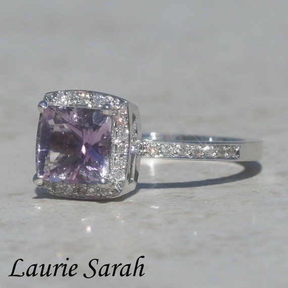 princess cut amethyst right ring with by
