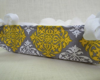 So Chic Tray, Fabric Basket, Organizer, Modern Diamond