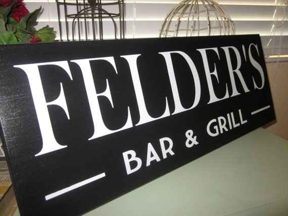 Custom Bar Sign  Personalized Groomsmen gift Beer Lover Tavern Sign Bar and Grill Sign  groomsman gift