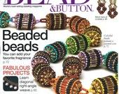 Bead & Button Magazine Aug 2006 Beading Stitching Weaves How-To Instruction Wirework