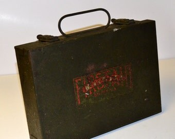 Vintage Red Cross First Aid Kit