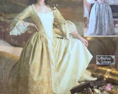 Sewing Pattern Simplicity 4092 Misses' 18th Century Costumes Sizes 6-12 Bust 30-34 inches Uncut Complete FF