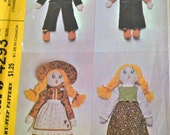 Sewing Pattern McCall's 4293Boy and Girl Doll with Clothes20 inches tall  Complete Uncut