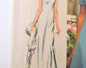 Vintage 70s Sewing Pattern Simplicity 5911 Dress Bust 30 31 Inches Complete