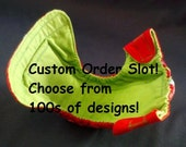 CUSTOM Fitted Diaper - newborn small medium large XL - Choose from 32 Designs - BumbleBeeBottomsBoutique