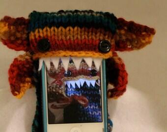 Phone Goblin in Multi-Color- Smart phone cozy