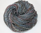 Rich Navy Merino Handspun Yarn