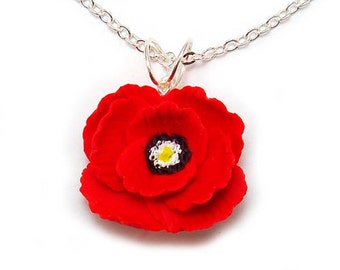Poppy Necklace - Poppy Jewelry Collection