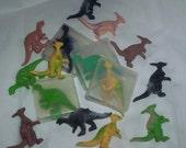 Dinosaur soaps  20 Party favor size soaps