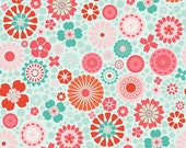So Happy Together quilt or craft fabric  by Riley Blake Designs, Happy Main in Blue-Fat Quarter