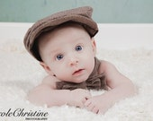 Baby Toddler  Boy Newsboy hat or Driver styled  Hat, you select style and hat