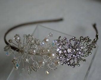 Bridal Hair Accessories, Wedding Hair Accessories, Wedding Tiara, Bridal Tiara, Wedding Hair Piece, Wedding Jewelry