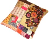 Autumn Pop Patchwork Cushion Pillow