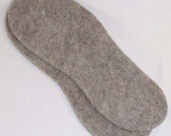 Natural Felt Insoles - Llama, Alpaca, Wool