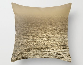 Ocean Loveliness Pillow Cover Ocean Scene Beach Decor Sweetness Salty Pacific Ocean Marine Decor Beach Decor