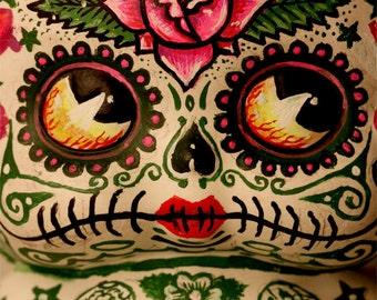 Dia De Los Muertos Deadey Betty Boop PRINT 308 by Michael Brown / UC Studios