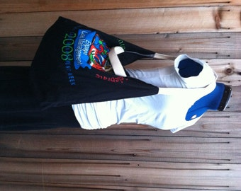 SALE - T Shirt Roll Up Tote - black
