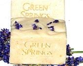Organic Luscious Lavender Cold Process Goat Milk Soap