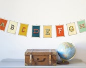 Alphabet Wall Cards - Old School Style 5x7 Cards