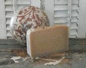 Homemade Large 6oz bar of Natural Soap in SAPMOSS