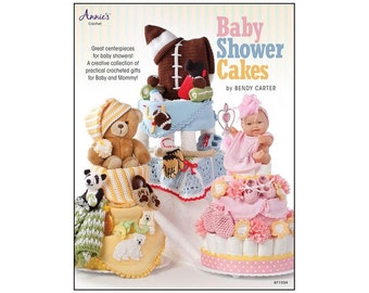 Annies Crochet Baby Shower Cakes Book Patterns