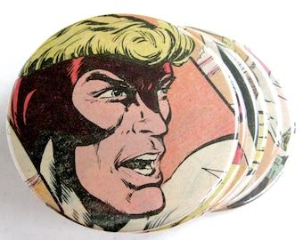 Angel Coasters // Recycled Vintage Comic Book // X-Men