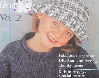 Hayfield Gorgeous Kids Knitting Pattern Book