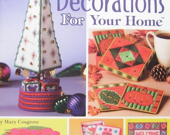 Plastic Canvas Seasonal Decorations Pattern Book