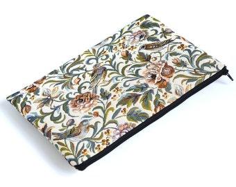 SALE! Surface Book Case, Asus ZenBook VX305 Sleeve, Cover, Garden Birds Fabric Bag