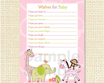 Popular items for baby advice cards on Etsy