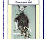 Peter Prim Tail Primitive Bunny Doll E-Pattern